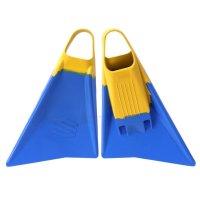 SNIPER Bodyboard Flossen Menace ML 43-44 Blau Gelb