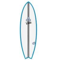 Surfboard CHANNEL ISLANDS X-lite Pod Mod 6.2 blue
