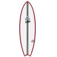 Surfboard CHANNEL ISLANDS X-lite Pod Mod 6.2 red
