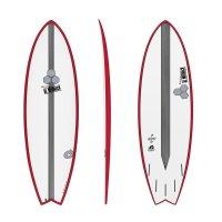 Surfboard CHANNEL ISLANDS X-lite Pod Mod 6.6 red