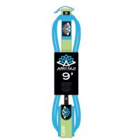 ARIINUI SUP straight Knie Leash 9.0 stand up Blau