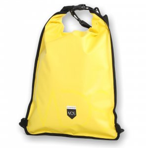 MDS waterproof Dry Pouch Backpack 15 Liter Yellow