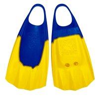 Bodyboard Fins WAVE GRIPPER S 37-38 blue yellow