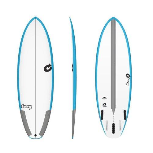 Surfboard TORQ TEC PG-R 6.2 Rail blue