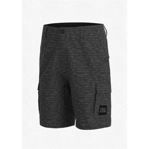 Picture Organic Clothing Streety Cargo Walkshort Boardshort Shorts Stretch schwarz Größe L