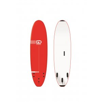 GO Softboard School Surfboard 7.0 wide body Rot