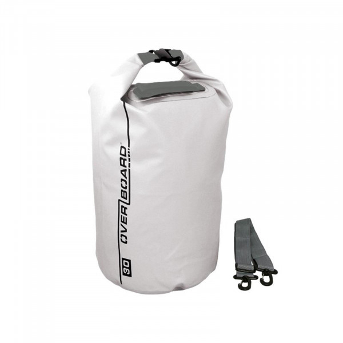 OverBoard wasserdichter Packsack 30 Liter Weiss