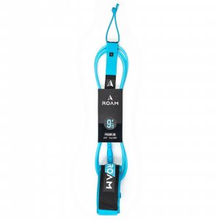 ROAM Surfboard Leash Premium 9.0 Calf 7mm Blue