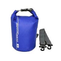 OverBoard wasserdichter Packsack 5 Liter Blau