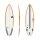 Surfboard TORQ Epoxy TEC Comp 6.2 Rail Gelb