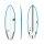 Surfboard TORQ Epoxy TEC PG-R 6.0 Rail Blau