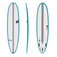 Surfboard TORQ Epoxy TEC M2  6.6 Rail Blau