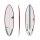 Surfboard TORQ TEC Multiplier 6.8 rail red