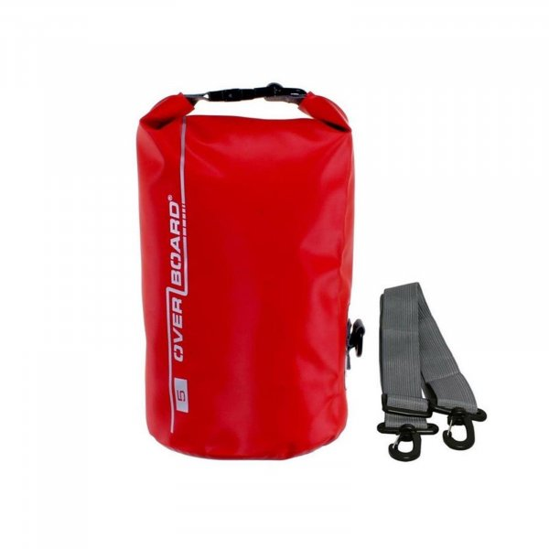Overboard Dry Tube Bag  5 Liter red