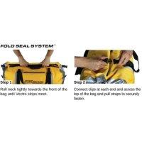 Overboard Waterproof Duffel Bag 40 Liters Yellow
